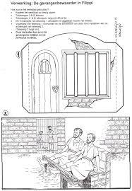 Paulus Und Silas Im Gefängnis Reli Bibelgeschichten Basteln