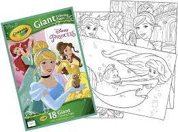 Find disney coloring book from a vast selection of books. Amazon Com Disney Princess Giant Coloring Pages Toys Games