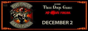 Five Finger Death Punch Chartway Arena Norfolk Virginia