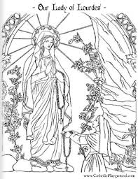 Coloring Pages Catholic Playground