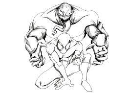 Small Picture spiderman vs venom coloring pages venom coloring pages coloring