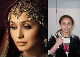 bollywood actresses without makeup rani mukherjee
