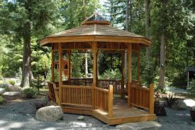 Excellent Wooden Gazebo Plans And Build Your Own Gazebo Shed Plans Package