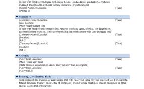 Mind Map Cv Template It Instructor Sample Resume
