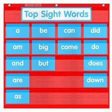 Scholastic Teachers Friend Word Wall Pocket Chart Multiple