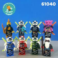 Non Lego 8 Digi NinjaGo lái xe motor - Season 12 - 61040
