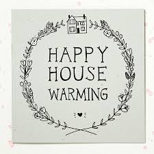 'Happy House Warming' Card