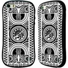 Pouzdro Head Case Apple Iphone 55s Vzor Maorské Tetování Motivy černá A Bílé Kruh