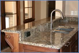 Tan Brown Granite Counter Tops ,Kitchen Worktops and Granite Countertop  Covers