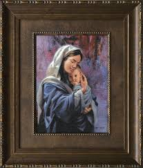 James Seward - Mother and Child - Framed Gift Art UNAVAILABLE