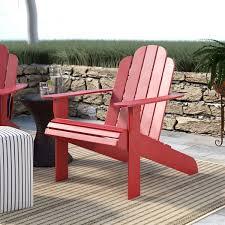 Beachcrest Home Selkirk <b>Solid</b> Wood <b>Adirondack Chair</b> & Reviews ...