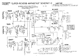 Fender Deluxe Tube Chart Vibrolux Reverb Schematic Wiring Diagrams