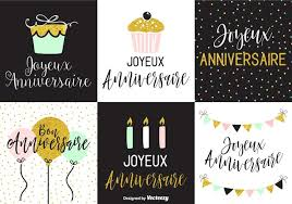 Greeting Card Samples Joyeux Anniversaire Greeting Card Templates Download Free