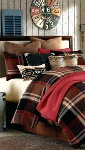 plaid twin bedding comforter sets perfect log cabin on duvet covers with
