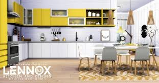 sims 4 kitchen design. lennox kitchen and dining set at simsational designs sims 4 design e
