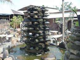 patio fountains garden water outdoor