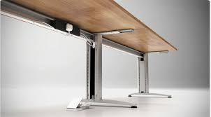 table white domino beam cable management