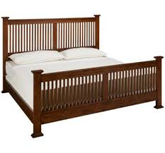Intercon-Oak Park-Intercon Oak Park King Slat Bed - Jordan's Furniture