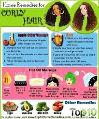 home remes for managing curly hair