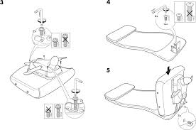 Ikea Instruction Manuals Ikea Chairs Markus Swivel Chair Pdf Assembly Instruction Free
