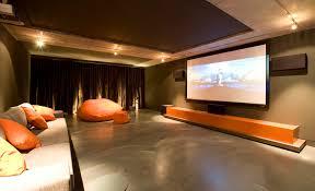 home-design-elegant-home-theater-setup-white-sofas-  What does Interior  Design ...