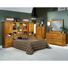 wall unit beds oak king bed size
