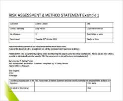 Method Of Statement Sample method of statement env100resumecloudinterhostsolutionsbe 46