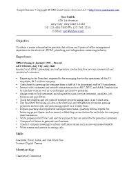 Sample Resume Objectives Outathyme Com