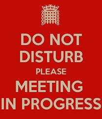 Do Not Disturb Meeting In Progress Sign Do Not Disturb Please Meeting In Progress Poster Candeve Keep