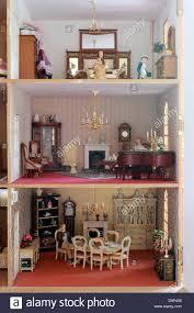 Dolls House Kitchen Furniture Interior Of Dolls Houseinterior Dolls House Model Replica