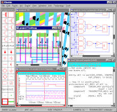 created by static free software ic layout designer