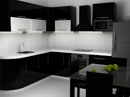 Black N White Kitchens The Amazing Idea Of Black Cabinets In Kitchen New Home Designs