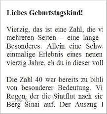 40 Geburtstag Frauen Spruche
