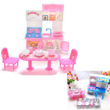20x Lot Barbie Doll Toys playhouse Tools Furniture Set Dining