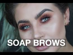 has anyone tried the soap brows trend what do you think are the pros and cons is it really any better than just using brow gel