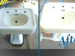 porcelain sink repair sink refinishing bathtub sink refinishing porcelain sink repair kit sink refinishing resurfacing porcelain