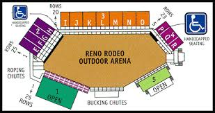 Reno Events Center Concert Seating Chart 61 Rare Rodeo Concert Seating