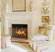 diy glass fireplace screen ideas