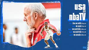 NBA TV to Televise Five USA Basketball ...