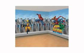 Superheroes Bedroom Super Hero Wall Decals Lilolarada Youtube