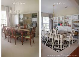 Ikea Dinning Room dining room makeover featuring ikea faux built ins a small snippet 2487 by uwakikaiketsu.us