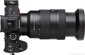 sony 24 70 2 8. sony fe 24-70mm f/2.8 gm lens extended top view 24 70 2 8 o