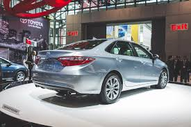 2014 camry redesign. Beautiful 2014 2014 New York Toyota Surprises With A Redesigned Camry Incorporates Some  Avalon  AutoNation Drive Automotive Blog Inside Camry Redesign
