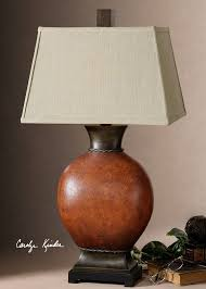 red table lamps for living room. suri brunished red table lamp. lamputtermost lightingliving room lamps for living a