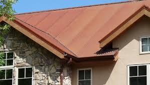 how to paint a rusty metal roof for roofing panels get that rustic rusting weathered corrugated