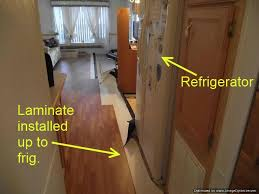 Small Picture Installing Laminate Flooring Under Refrigerators
