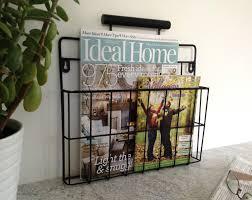 wall mount magazine rack toilet. Decoration : Floor Magazine Rack Wooden Holder Bathroom Metal Wall Mount Toilet