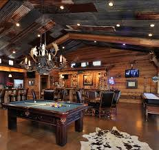 pole barn with man cave - Google Search