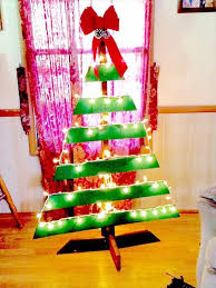 green pallet christmas tree. diy pallet christmas tree with lights concepts green s