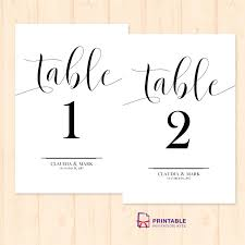 Wedding Reception Templates Free Table Numbers For Wedding Reception Templates Naveshop Co